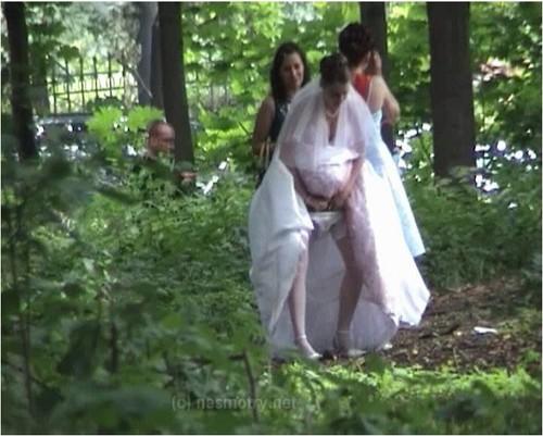 видео писающих невест проснулась, почувствовав