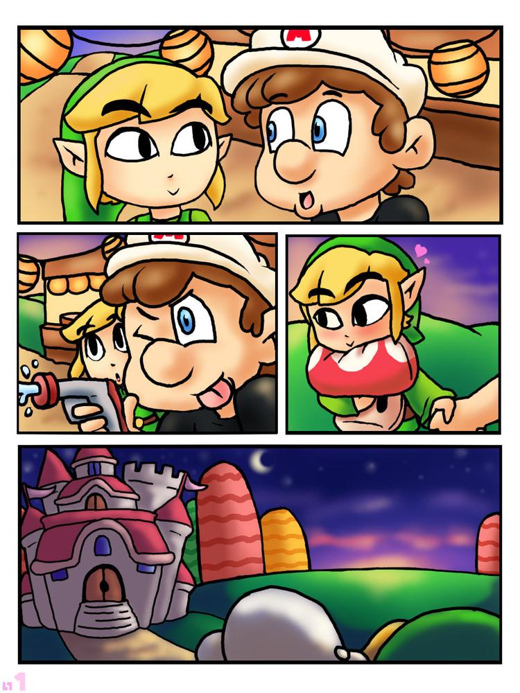 Parodia porno zelda El Primer Beso Parodia Xxx La Leyenda De Zelda Super Mario Bros Comics Porno Hentai