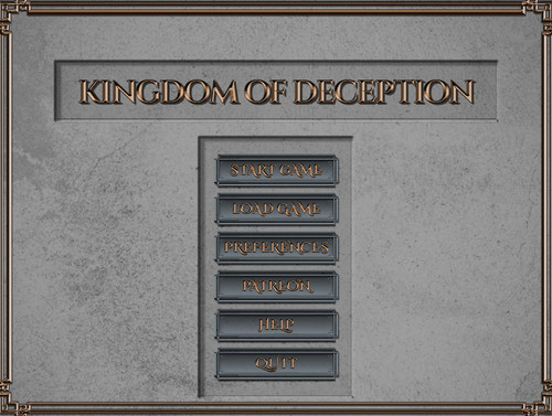 Kingdom of Deception 0.9.0 Released! - 24 September 2019