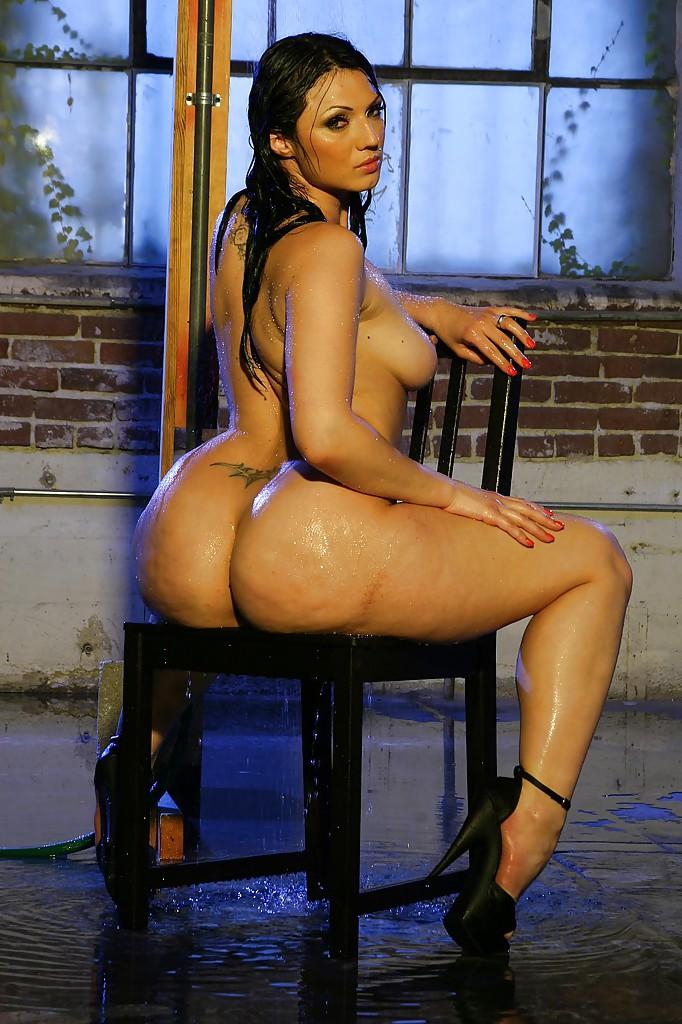 Ava Rose Nude New Sensations Model Bends Over