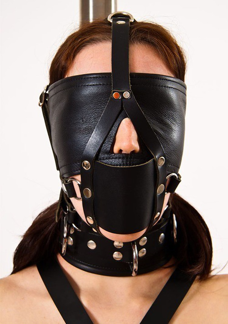 Sexy eye masks erotic goods black leather mask blindfold slave game bdsm fetish bondage sex toys for couples
