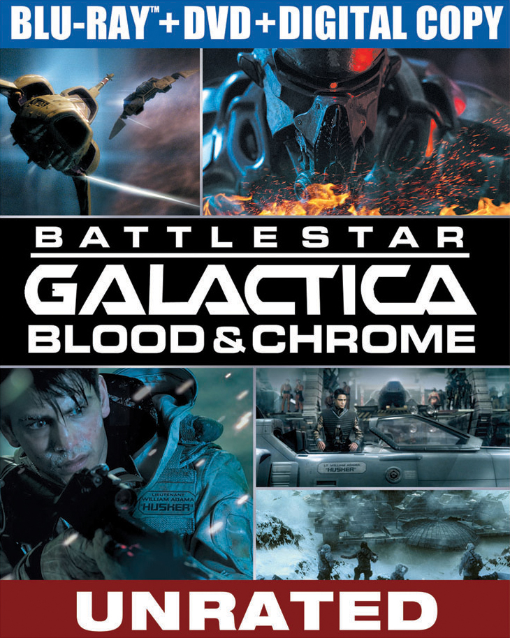 Battlestar Galactica Blood And Chrome COMPLETE S01