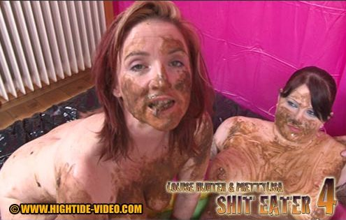 Hightide-Video - LOUISE HUNTER & PRETTYLISA SHIT EATER 4