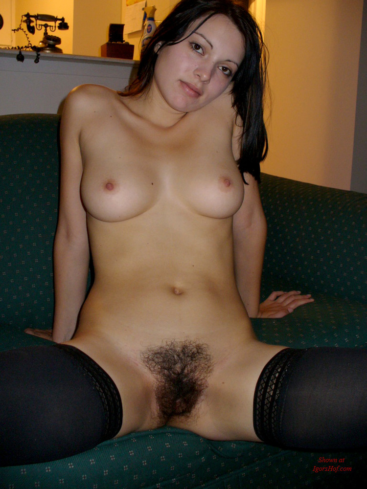 Amateur girls with hairy pussy