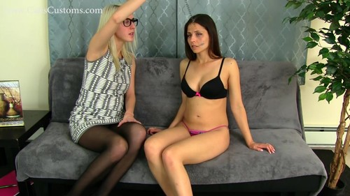 Hot for Teacher with Cali and Cadence