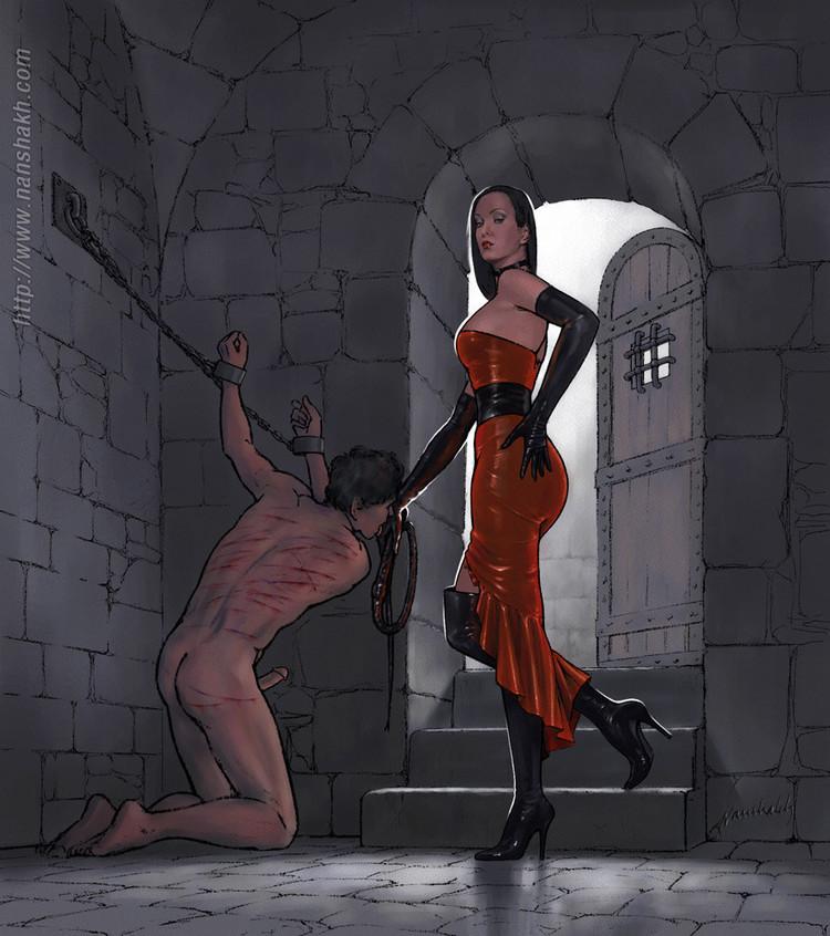 Hold captive femdom